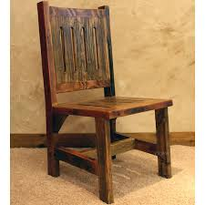 black mountain reclaimed rustic dining room chair nc rustic