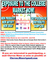 focus group flyers promote your products projects to college students march 25