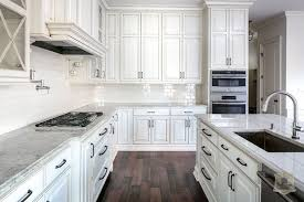 glazed cabinets transitional kitchen stonecroft homes intended for white plans 14