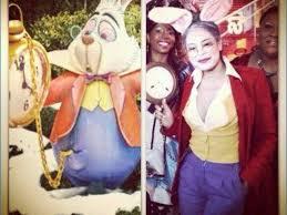 alice in wonderland white rabbit diy costume inspiration of by size handphone
