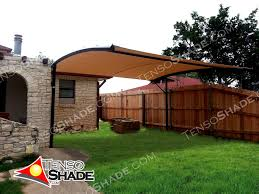 offset cantilever curve shade structures shade sails custom deck shade structure plans backyard wooden shade structures