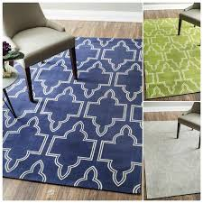 nuloom flatweave modern geometric printed trellis various colors cotton rug