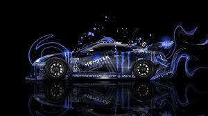 monster energy pagani zonda cs plastic car