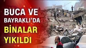 İzmir'de binalar yıkıldı!   6.6'lık depremden son dakika - YouTube
