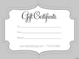 Make Your Own Gift Certificates Free Create Your Own Gift Certificate Template Free 24 Infantry 15