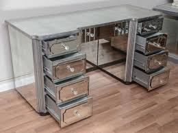 mirrored dressing table or vanity with nine drawers for sale at