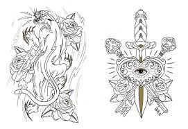Small Picture The Tattoo Colouring Book Best Tattoo 2018