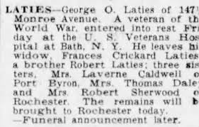 Obituary for George O. Latles - Newspapers.com