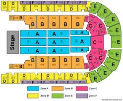 Boardwalk Hall Seating Chart Luke Bryan Boardwalk Hall Arena Boardwalk Hall Tickets And Boardwalk