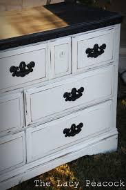 Black and White Distressed Dresser | Bedroom | White ...