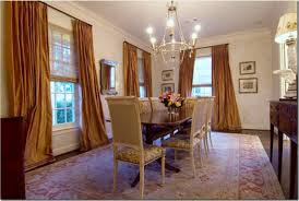 Casual Dining Room Curtains - Dining room curtain designs
