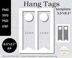 Hang Tag Template Custom 44x4444 Wine Bottle Hang Tag Template PNG PSD Formats Table Etsy