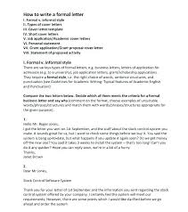Example Of Formal Letter Enchanting Speculative Job Application Cover Letter Template Online Free Specu