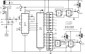 radio remote control circuit diagram ireleast info remote control using telephone electronics circuits hobby wiring circuit