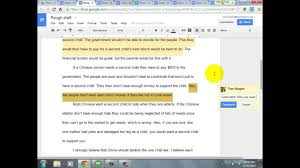 editing student essays in google drive editing student essays in google drive