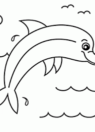 Small Picture Dolphin coloring pages for kids prinable free dolphin printables