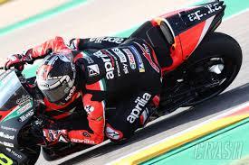 Misano MotoGP: Vinales 'not setting goals' for second Aprilia race | MotoGP