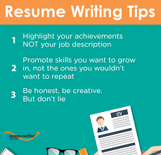 3 Useful Tips To Build A Better Resume Resume Writing Tips
