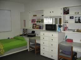 Modern Bedroom Storage Bedroom Enchanting Ikea College Dorm With Gray Chairs And Storage