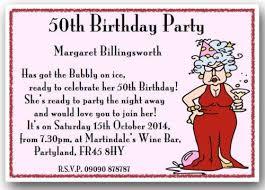 Funny 50th Birthday Invitations Unique Funny 50th Birthday