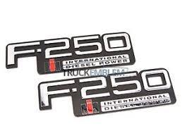 2 new pair custom chrome 83 94 obs ford f250 international diesel