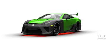 My perfect Lexus LFA.