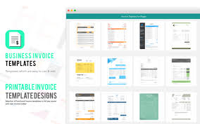 Create Your Own Invoice Template Invoice Templates For Pages On The Mac App Store