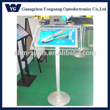 Led Light Box Display Stand Acrylic Light Box Display Stand StyleFree Standing Crystal Led 42