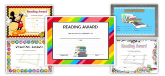 Award Certificate Editable Reading Award Certificates The Best Template Collection 21