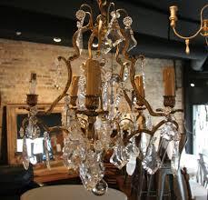 vintage crystal chandelier style