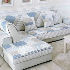 Online Shop <b>Nordic</b> Little Lattice <b>Sofa</b> Cover Cotton Slip-resistant ...