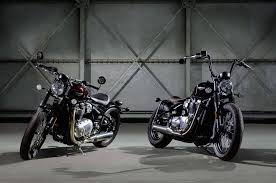 bobber triumph motorcycles