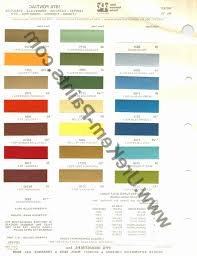 44 Memorable Dupont Automotive Paints Color Chart