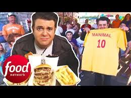 Adam Destroys A 4 LB Proper American Challenge In 15 Minutes | Man v Food -  YouTube