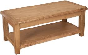 perth country oak coffee table