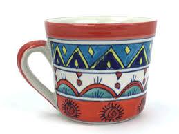 ... picture of coffee tea mug hand painted ...