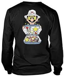Raoul Size Chart Raoul Duke Mario T Shirt Raoul Duke Hunter S Thompson T Shirt Long Sleeve Tees