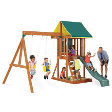 Big Backyard Ashberry Ii Wooden Swing Set  Whatu0027s It WorthBig Backyard Ashberry Wood Swing Set