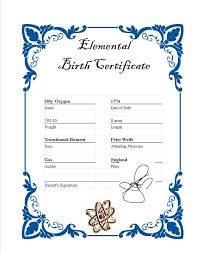 Blank Birth Certificate Images Beauteous Blank Birth Certificate Template For Elements Customcartoonbakery