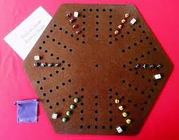 Wooden Aggravation Board Game Aggravation Wahoo wa hoo board game 100 player with felt backing 53