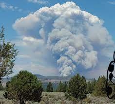 Bootleg Fire burning northeast ...