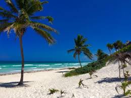 what is the best way to get to tulum from the airport the beautiful playa akun beach