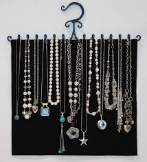 Hanging Necklace Organizer Jeris Organizing Decluttering News Organizing The Jewelry By