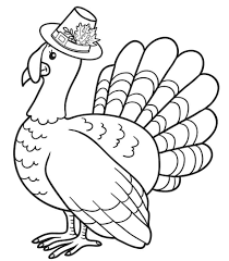 Small Picture Turkey Coloring Pages For Preschoolers Coloring Pages
