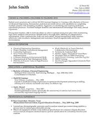 Chemical Engineer Resume Sample & Template