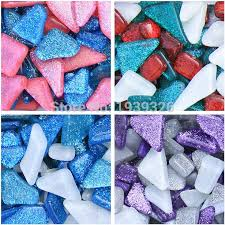 product description 200g diy irregular mosaic tiles