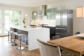 Kitchen Islands That Look Like Furniture Do You Like The Look Of This Corianar Waterfall Style Kitchen