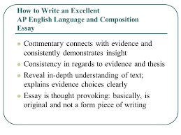 how to write an excellent ap english language and composition how to write an excellent ap english language and composition essay
