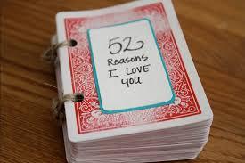 52 reasons i love you diy gift