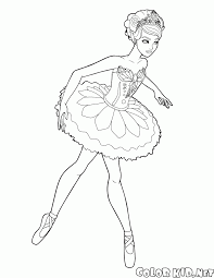 Disegni Da Colorare Barbie Ballerina